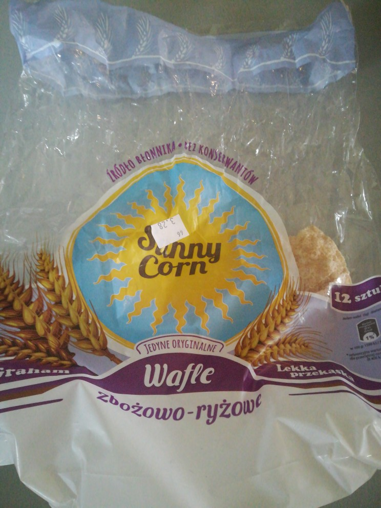 Wafle sunny corn  planet food